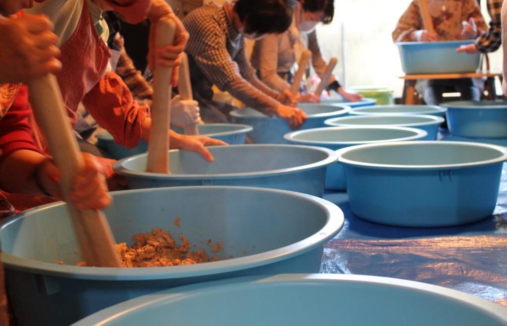 味噌作り教室