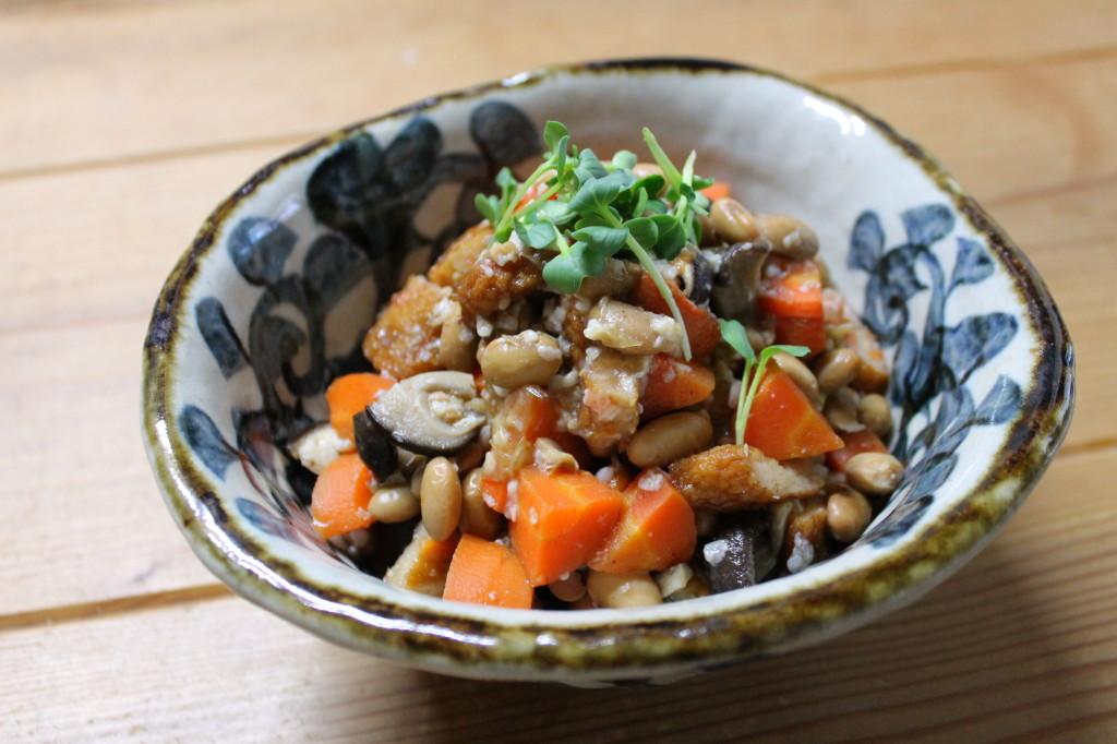 甘酒五目煮豆
