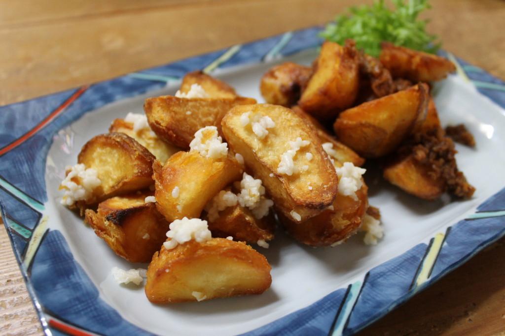【塩糀味&しょうゆ糀味】のフライドポテト