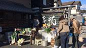 やさし菜農園販売風景